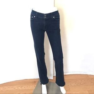 EUC Red Engine Curvy Fit Bootcut Jeans Sz 28